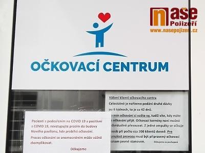 V Libereckém kraji vyočkováno 387 tisíc dávek, covid stále stagnuje