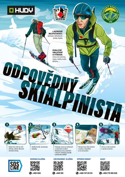 Projekt Odpovědný skialpinista v Krkonoších se rozjíždí