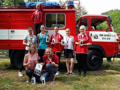 V soutěži O pohár dráčka Soptíka se dařilo mladým semilským hasičům