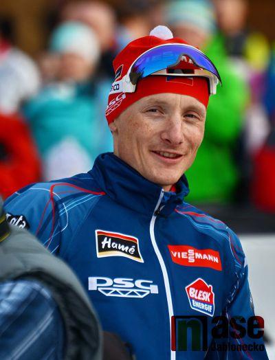 Tři biatlonisté v TOP 10, nejlepší Moravec druhý