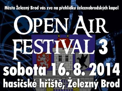 Open Air festival 3 znovu spojí hudební fanoušky v Železném Brodě