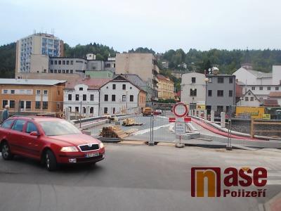 Most přes Jizeru v Železném Brodě se opět otevře, uleví se dopravě