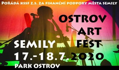 Ostrov Art Fest na dva dny obsadí semilský park