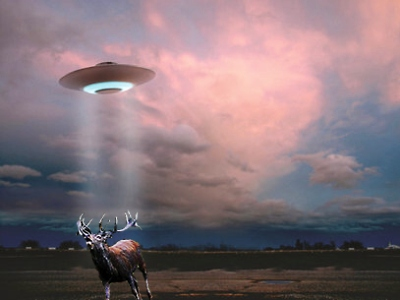 UFO na Ostrově!