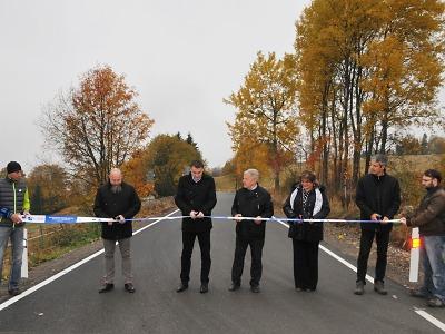 Tři další části silnic v Libereckém kraji září novotou