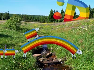 Ovečky z České televize se zatoulaly i na Valdštejn