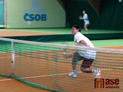 Krajskému přeboru policistů v tenise vládly Semily