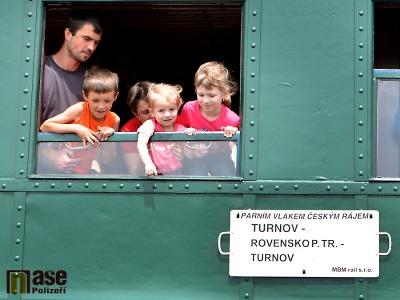 Pohádkový les v Rovensku opět podpoří jízdy parních vlaků