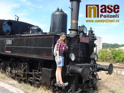 FOTO: Parní vlak absolvoval první prázdninovou jízdu Českým rájem