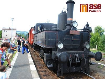 Historické vlaky budou o prázdninách opět brázdit koleje v Českém ráji