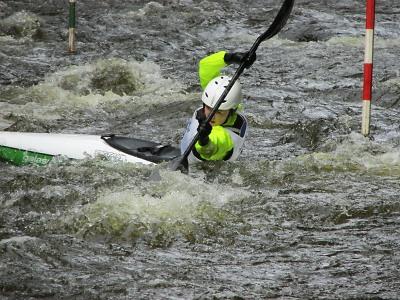 Spálovský slalom na Kamenici absolvovali i mladí závodníci TJ Semily