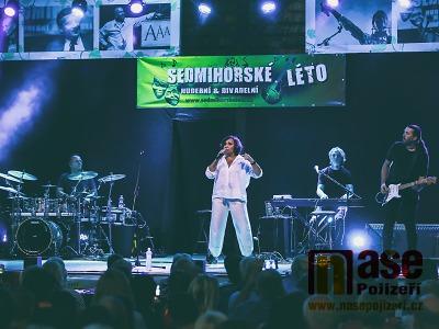 FOTO: Sedmihorské léto pokračovalo koncerty Ivo Jahelky a Petry Janů