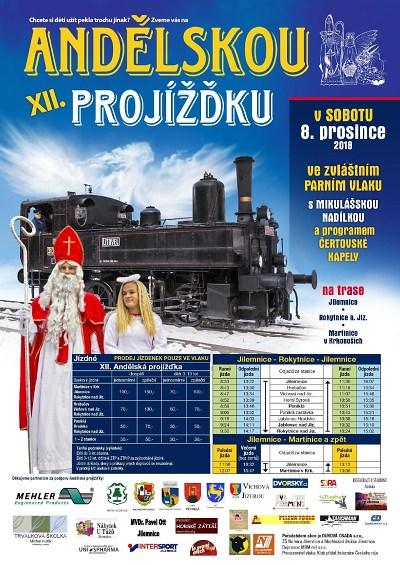 Mikulášské parní vlaky opět spojí Český ráj s Krkonošemi