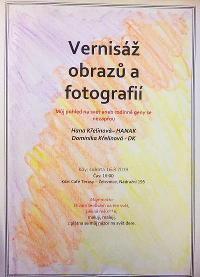 V Cafe Terasy zahájili výstavu Hany Křelinové