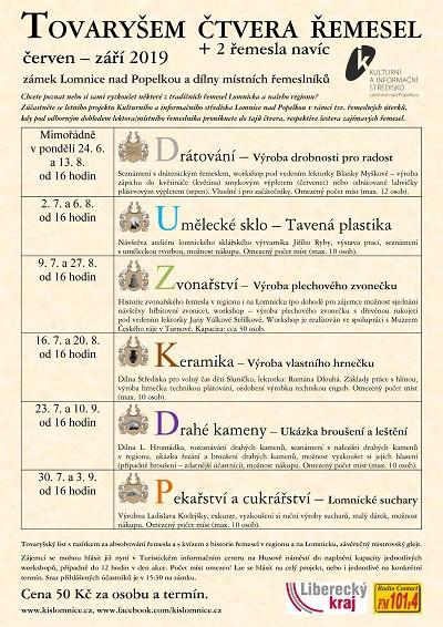 V Lomnici se lze stát tovaryšem šesti řemesel