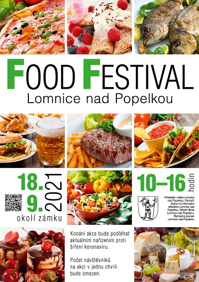 Druhý ročník Food Festivalu pořádají na lomnickém zámku