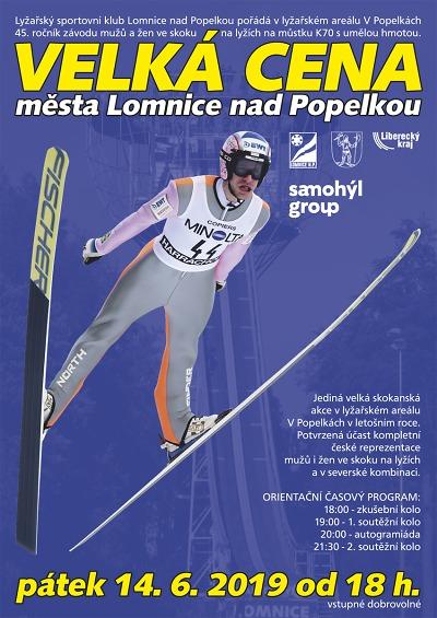 Velká cena přiláká do Lomnice skokanskou reprezentaci