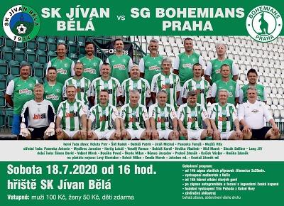Fotbalisté Bělé vyzvou starou gardu pražské Bohemky