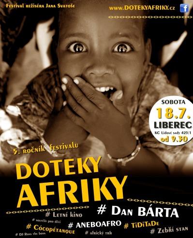Dotkněte se Afriky na festivalu v libereckých Lidových sadech