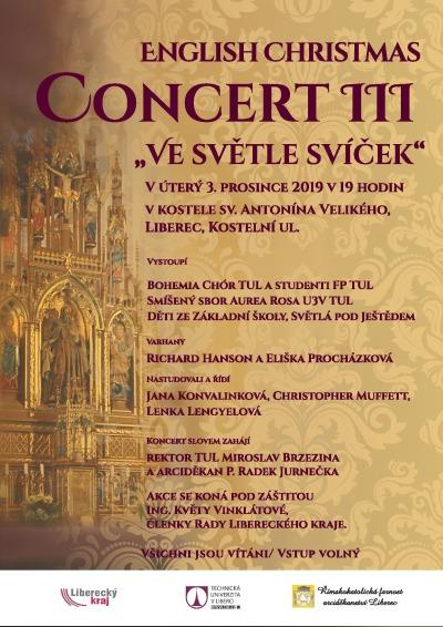 Liberecký kostel ožije již potřetí třígenerační anglickou oslavou adventu