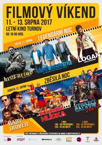 V turnovském letním kině připravují na srpen opět Filmový víkend