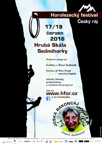 Horolezecký festival Český ráj navštíví i Josef Rakoncaj