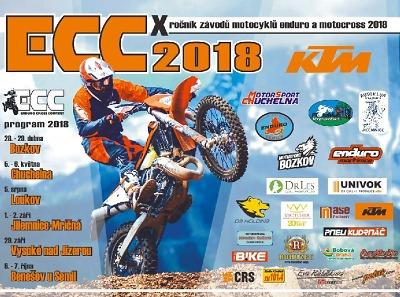 Závodem v Bozkově odstartuje 10. ročník seriálu KTM ECC