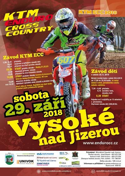 Seriál KTM ECC pokračuje ve Vysokém nad Jizerou