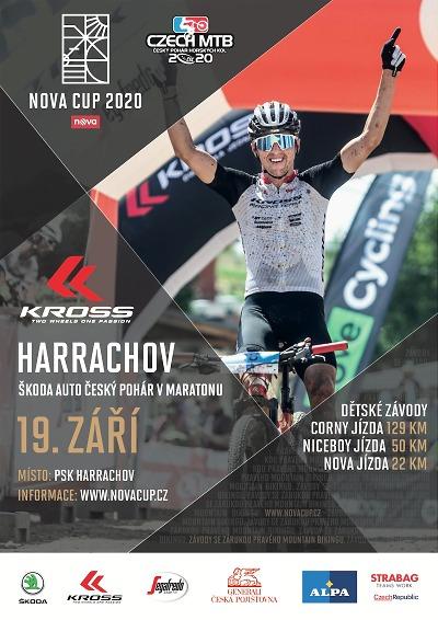 Seriál horských kol Nova cup pokračuje závodem Kross Harrachov