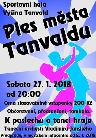 Ples města chystají v Tanvaldu