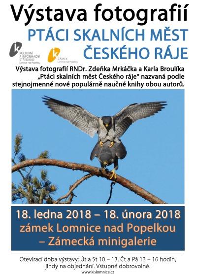 Ptáci skalních měst Českého ráje se usídlili na lomnickém zámku