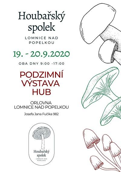 Podzimní výstavu hub pořádají opět v lomnické Orlovně