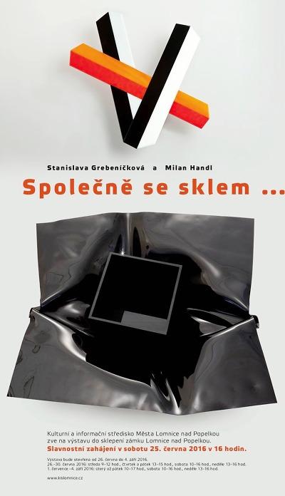 Společně se sklem… vystavují v Lomnici Grebeníčková a Handl