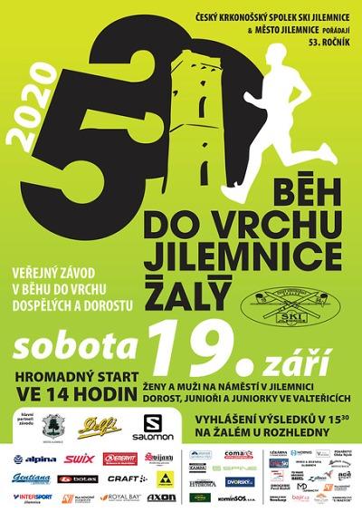 Běh na Žalý je letos nominačním pro šampionát v bězích do vrchu