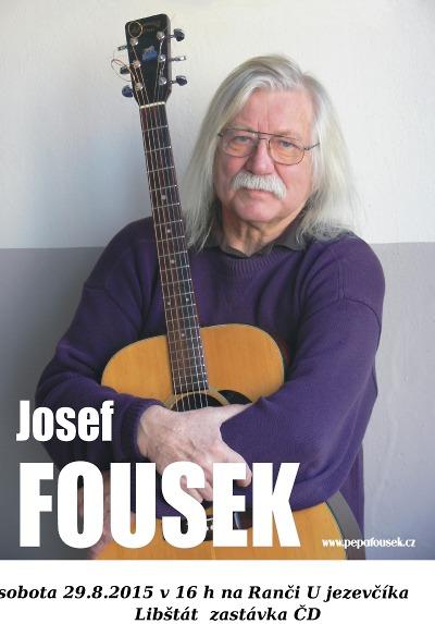 Písničkář Pepa Fousek přijede zahrát do Libštátu