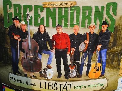 Na ranč U Jezevčíka v Libštátě přijede zahrát kapela Greenhorns