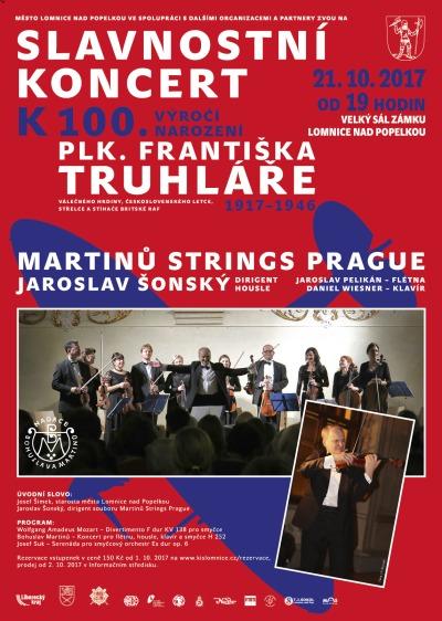 Na lomnickém zámku zahrají koncert k uctění Františka Truhláře