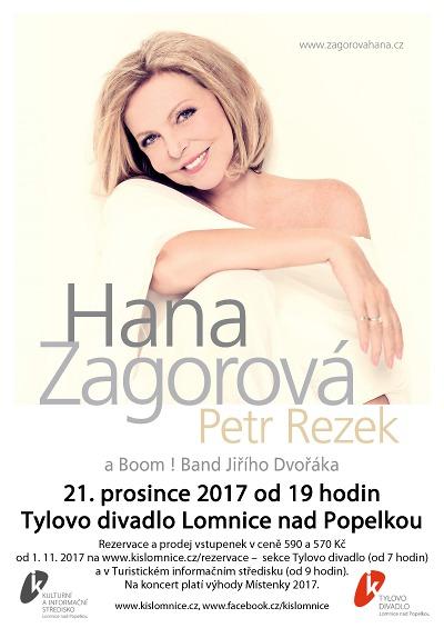 Do Lomnice přijede zazpívat Hana Zagorová s Petrem Rezkem