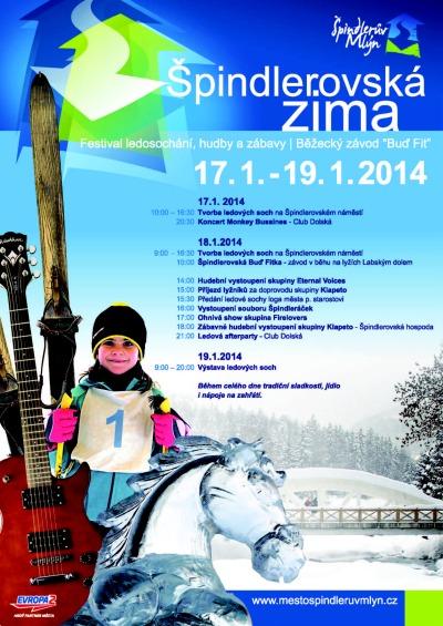 Špindlerův Mlýn o víkendu ožije Festivalem ledosochání