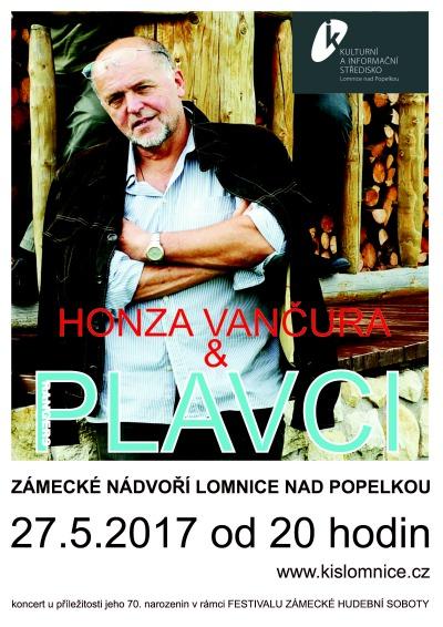 Jan Vančura a Plavci zakončí Zámeckou hudební sobotu