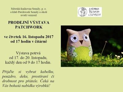 Výstava patchworku se opět koná v semilské knihovně