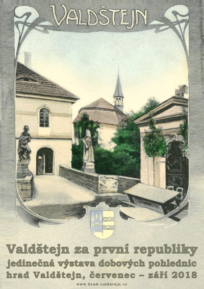 Hrad Valdštejn představí na pohlednicích z první republiky