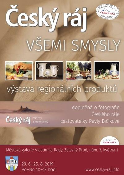 Výstavu Český ráj všemi smysly doplňují fotografie Pavly Bičíkové