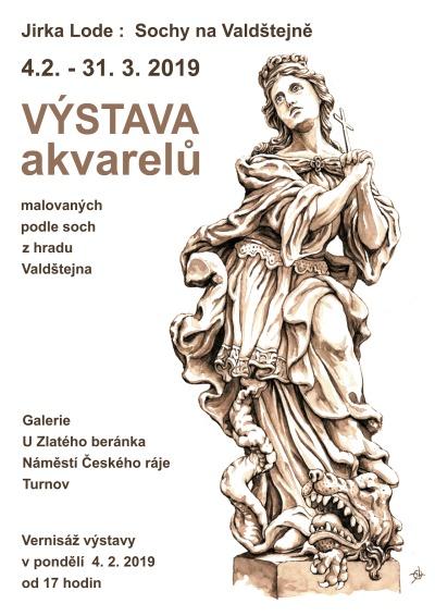 Galerie U Zlatého beránka pořádá výstavu Sochy na Valdštejně