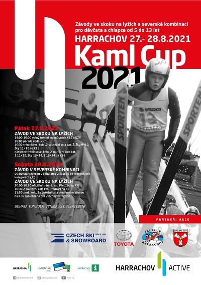 Na Kaml cupu si děti zazávodí ve skocích a severské kombinaci