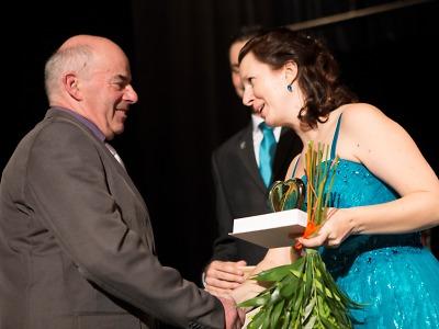 Cena města Semily 2015 předána na plese pro Jizerku a Josefa Zajíce