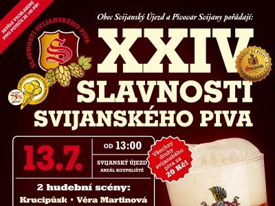 Svijanské slavnosti kromě piva lákají na Krucipüsk či Věru Martinovou