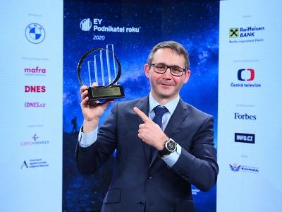 Nejlepším libereckým podnikatelem 2020 majitel firmy Kitl Jan Vokurka
