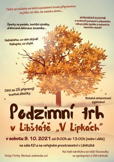 Do Libštátu zvou na podzimní trh V Lipkách