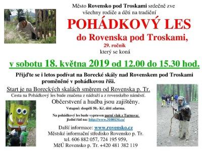 Pohádkový les v Rovensku pod Troskami opět vede do Boreckých skal